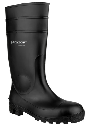 Dunlop Protomastor 142PP Safety Wellington with Steel Toe Cap