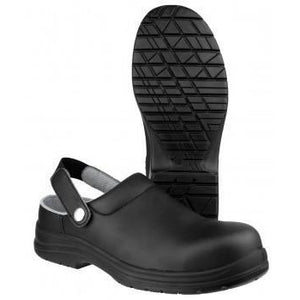 Amblers Safety Safety Clogs Amblers FS514 Safety Work Clogs With Steel Toe Cap