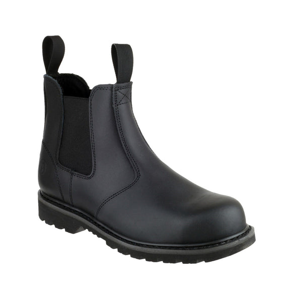 Amblers Safety Safety Dealer Boots Amblers FS5 Pull-On Dealer Safety Boots With Steel Toe Cap