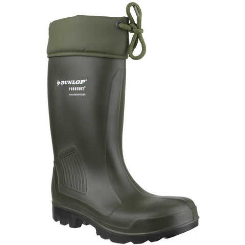 Dunlop Thermoflex Safety Wellington With Steel Toe Cap