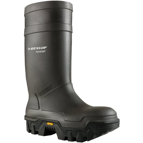 Dunlop Safety Wellingtons Dunlop Vibram Explorer Safety Wellington With Steel Toe Cap
