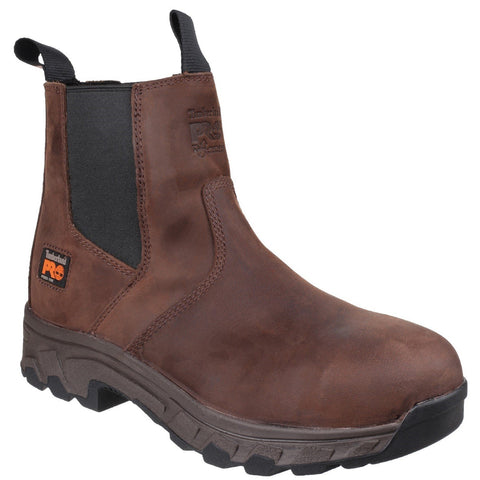 Timberland Pro Safety Dealer Boots Timberland Pro Workstead Safety Dealer Boot - Brown