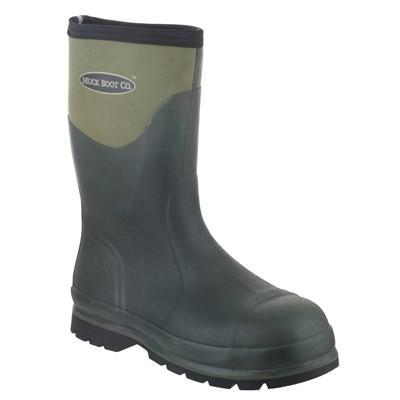 Muck Boot Safety Wellingtons Muck Boots Humber Mid-Height with Steel Toe Cap