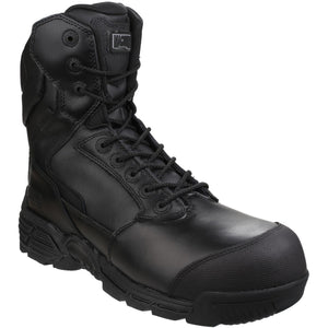 Magnum Magnum Black Stealth Force 8.0 Ct Cp Side Zip Boot