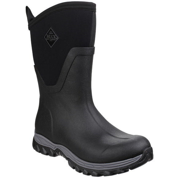 Muck Boot Non Safety Wellingtons Muck Boots Arctic Sport Mid-Height - Black