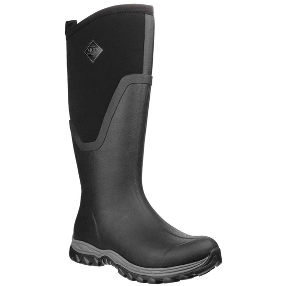 Muck Boot Non Safety Wellingtons Muck Boots Arctic Sport Tall II Womens - Black