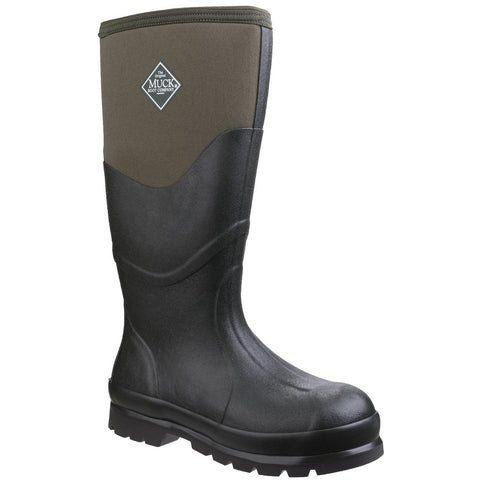 Muck Boot Non Safety Wellingtons Muck Boots Chore 2K High Boot - Moss