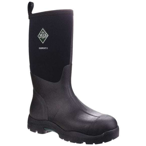 Muck Boot Non Safety Wellingtons Muck Boots Derwent II Mid-Height Boot - Black