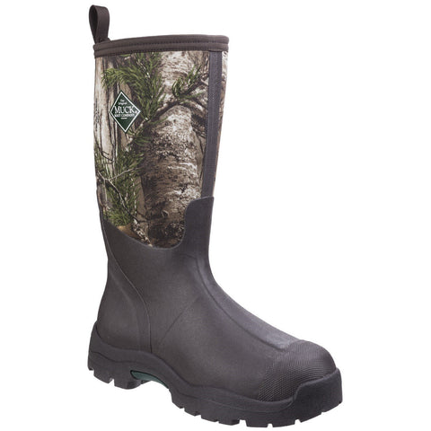 Muck Boot Non Safety Wellingtons Muck Boots Derwent II Mid-Height Boot - Patterned Bark