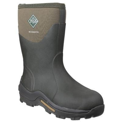 Muck Boot Non Safety Wellingtons Muck Boots Muckmaster Mid-Height Wellingtons - Moss