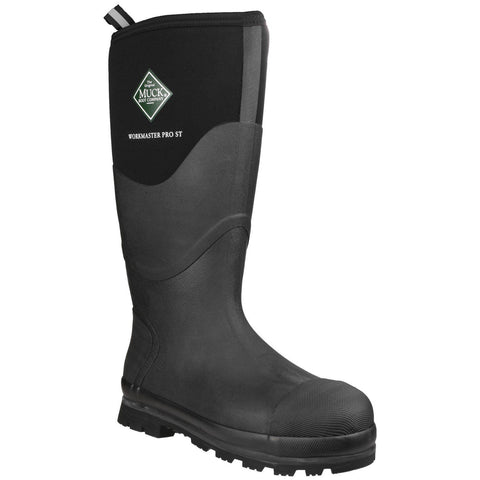 Muck Boot Safety Wellingtons Muck Boots Workmaster Pro Safety Boot - Black