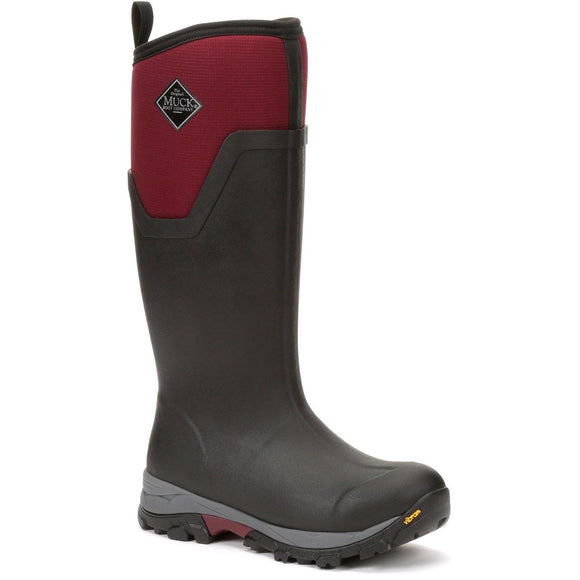 Muck Boots Non-safety Wellingtons Muck Boots Women's Arctic Extreme Ice Tall - Black/Red