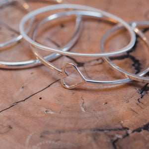 Silver bangle making class based in Broadstairs with Ami of AB Jewellery, Goldsmith