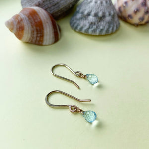 9ct Gold and Topaz Earrings