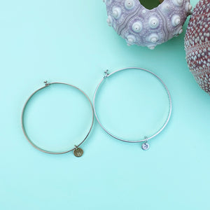 Say it with a letter...  bangle