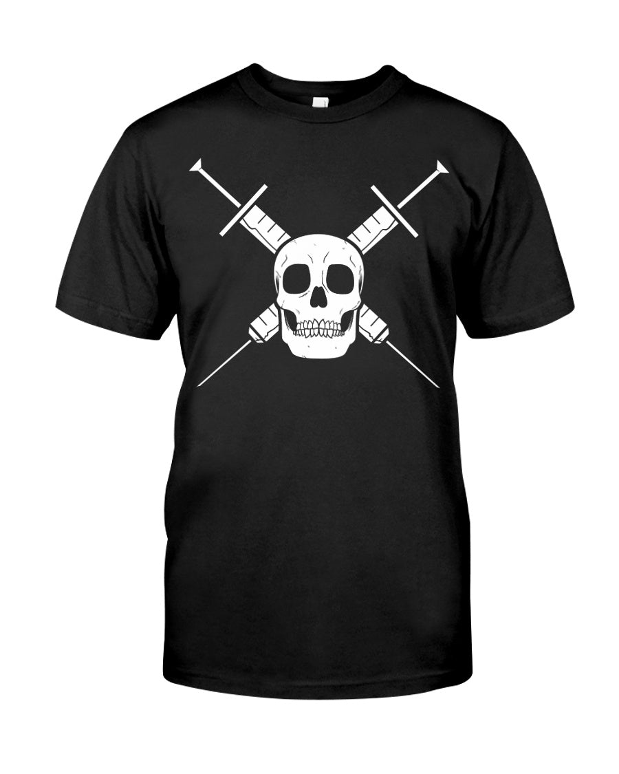Skull and Needles T