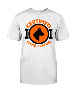 Certified Dog Lover