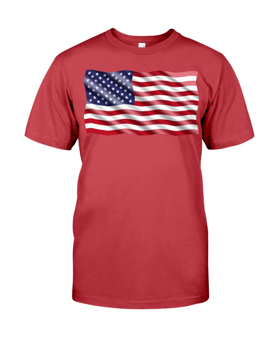 American Flag Shirts for Youth & Adults
