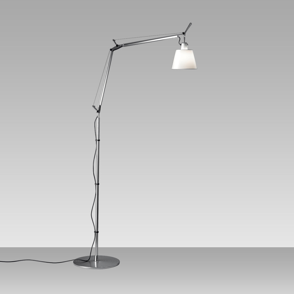 Artemide | Tolomeo with Shade Floor Lamp  |AM-TLS0110/11 -  Indoor Lighting - Teakwood Central