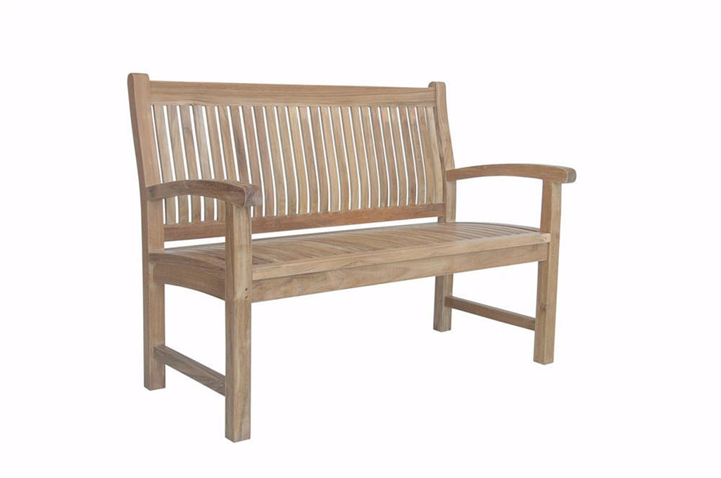 Anderson Teak | Sahara 2-Seat Teak Bench |BH-002 -  Furniture - Teakwood Central