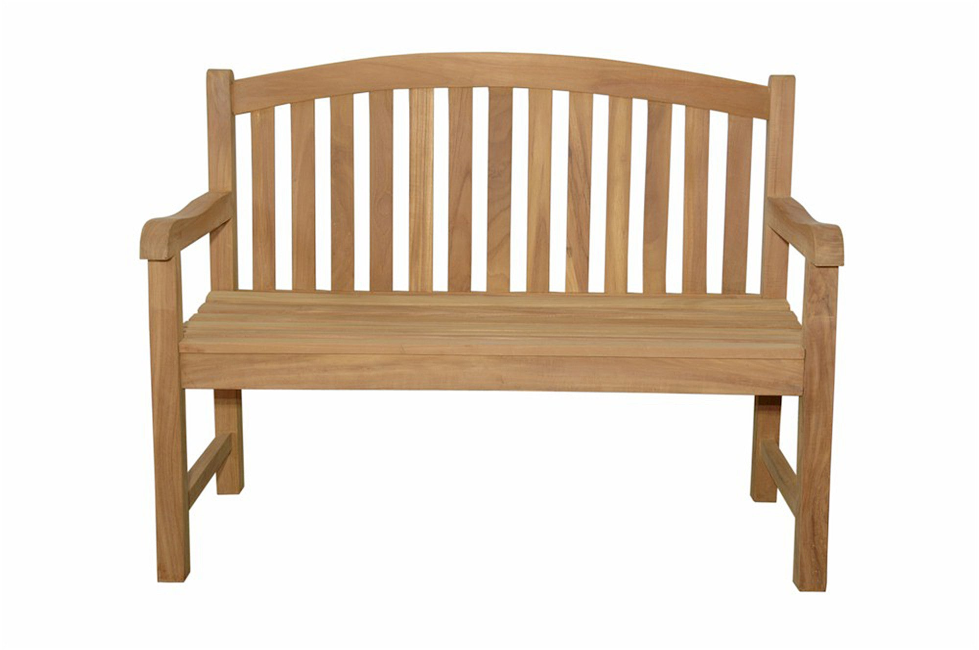 Anderson Collection Chelsea 2-Seater Teak Garden Bench (BH-004R ...