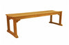 Anderson Teak | Mason 3-Seat Backless Teak Bench |BH-005B -  Furniture - Teakwood Central