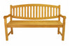 Anderson Teak | Kingston 3-Seat Teak Garden Bench |BH-005O