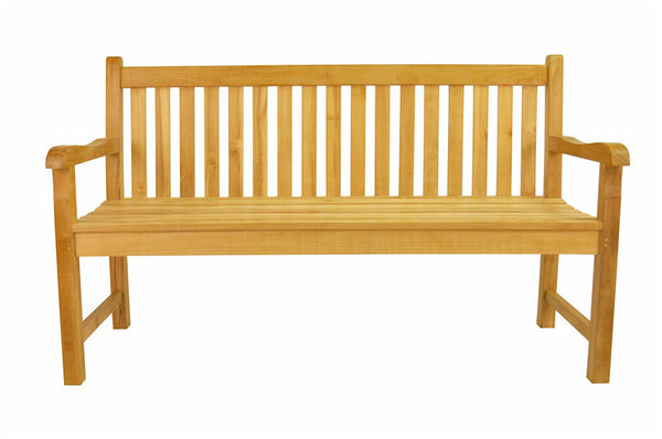 Anderson Teak | Classic 4-Seat Teak Garden Bench |BH-006S -  Furniture - Teakwood Central