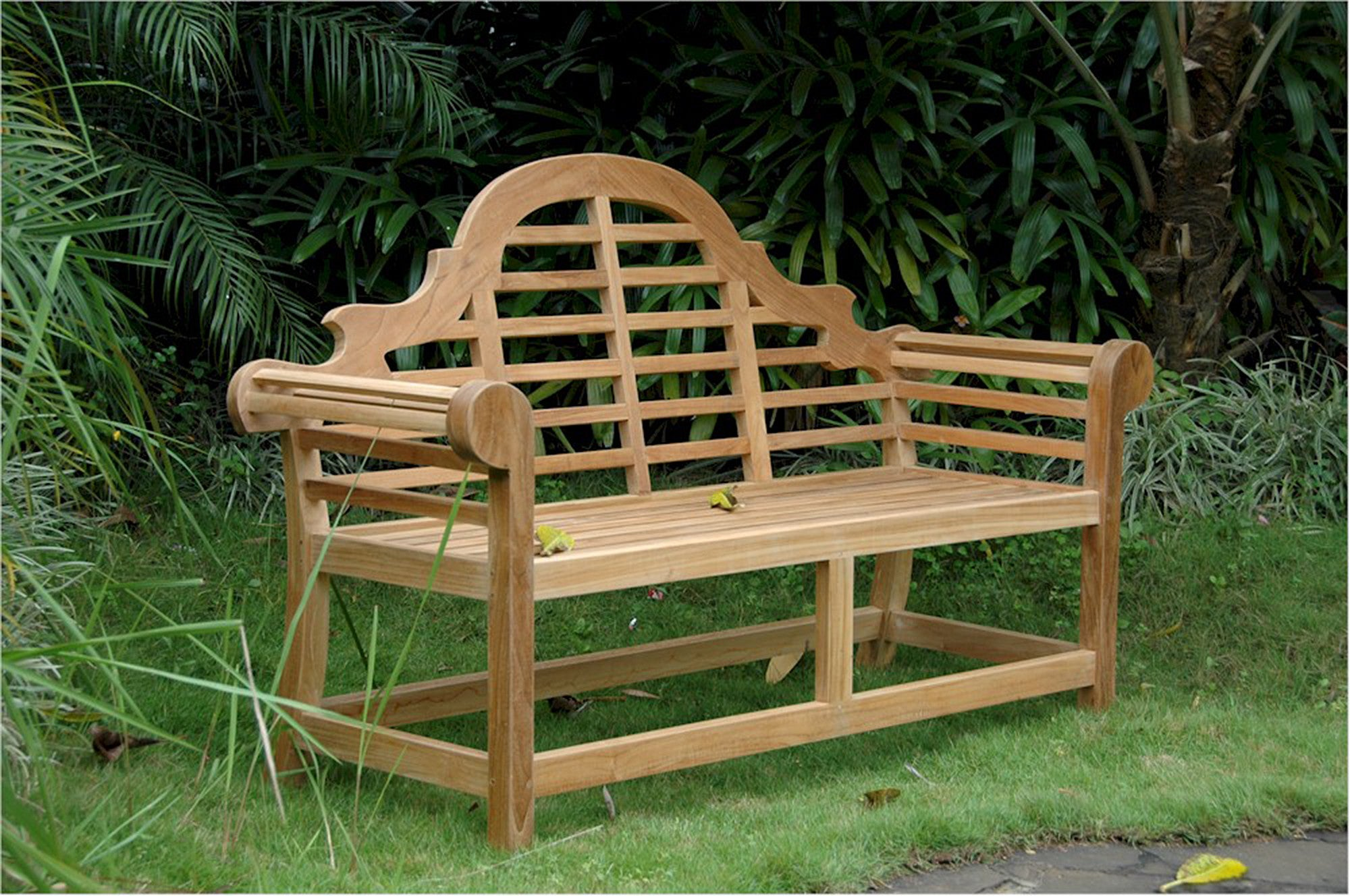 Anderson Teak Marlborough 2 Seat Teak Garden Bench Teakwood Central