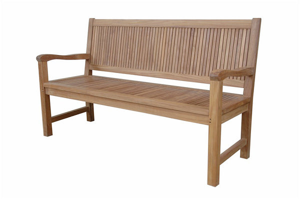 Anderson Teak | Chester 3 Seat Garden Bench |BH-2059 -  Furniture - Teakwood Central