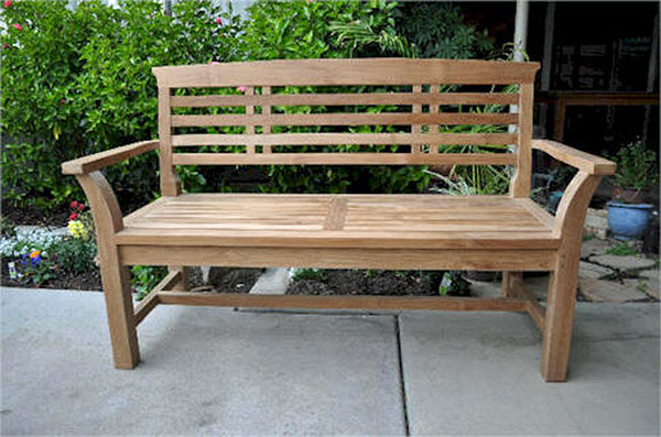 Anderson Teak | Sakura 2-Seater Teak Bench |BH-257 -  Furniture - Teakwood Central
