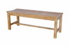 Anderson Teak | Casablanca 2-Seat Backless Teak Bench |BH-448B -  Furniture - Teakwood Central