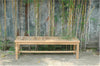 Anderson Teak | Casablanca Backless 3-Seat Teak Bench |BH-459B -  Furniture - Teakwood Central