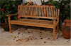Anderson Teak | Del Amo 3-Seat Teak Garden Bench |BH-560 -  Furniture - Teakwood Central
