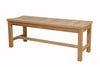 "Anderson Teak | Madison 48"" Backless Bench 