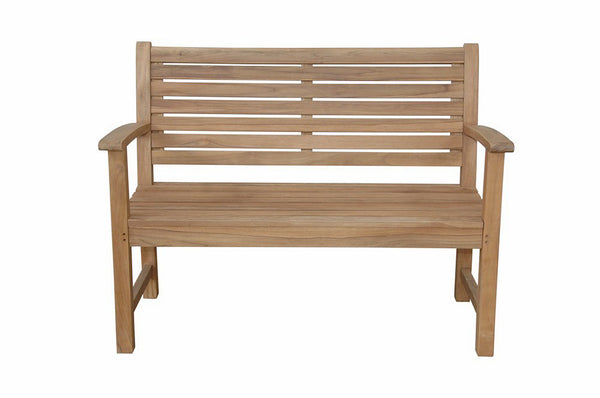 "Anderson Teak | 48"" 2-Seat Teak Garden Bench 