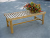 Anderson Teak | Cambridge 2-Seat Backless Teak Bench |BH-748B