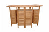 Anderson Teak | Altavista Teak Folding Bar Table |BS-010 -  Furniture - Teakwood Central