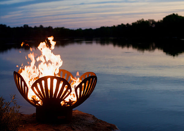 Fire Pit Art - Barefoot Beach 36"
