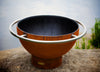 Fire Pit Art | Bella Luna 48 Inch Carbon Steel Fire Pit with Ring (FPA-BL) -  Fire Pits - Teakwood Central