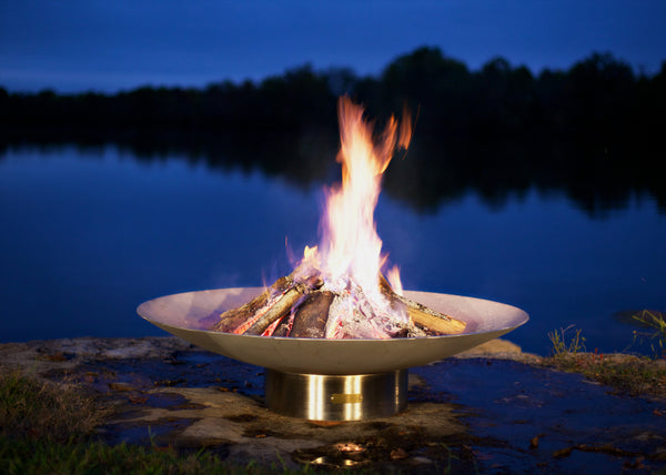 Fire Pit Art - Bella Vita 46 inch Fire Pit (FPA-BV-46) -  Fire Pits - Teakwood Central