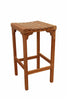 Anderson Teak | Montego Backless Teak Bar Chair | CHB-404 -  Furniture - Teakwood Central