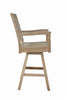 Anderson Teak | Rialto Swivel Teakwood Bar Chair |CHB-S087 -  Furniture - Teakwood Central