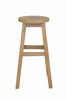 Anderson Teak | Alpine Round Teak Counter Stool |CHC-1515 -  Furniture - Teakwood Central