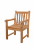Anderson Teak | Classic Dining Teak Armchair |CHD-005 -  Furniture - Teakwood Central