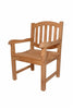 Anderson Teak | Kingston Dining Teak Armchair |CHD-007 -  Furniture - Teakwood Central