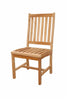 Anderson Teak | Wilshire Side Teak Dining Chair |CHD-113 -  Furniture - Teakwood Central
