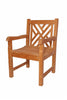 Anderson Teak | Vilano Dining Teak Armchair |CHD-120 -  Furniture - Teakwood Central