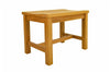 "Anderson Teak | Casablanca 24"" Backless Teak Chair 