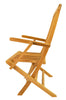 Anderson Teak | Classic Folding Teak Armchair Set of 2 |CHF-102 -  Furniture - Teakwood Central